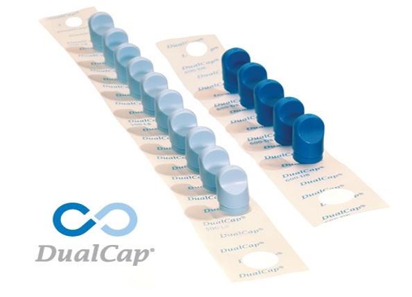 Desinfekční víčka DualCap®